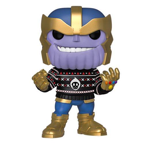 Marvel Holiday Thanos Pop! Vinyl Figure, Not Mint