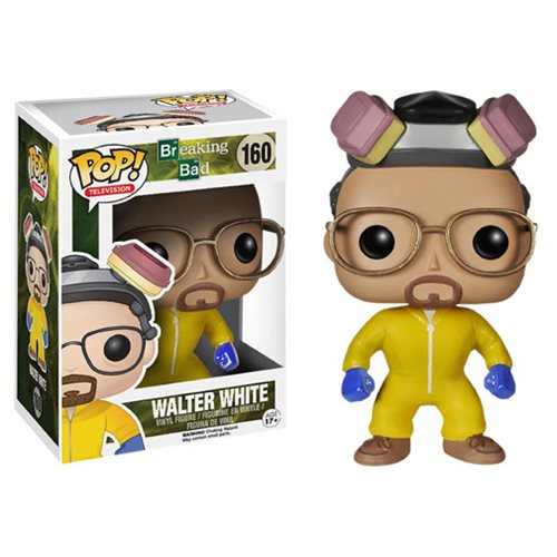 Breaking Bad Walter White Cook Suit Pop! Vinyl Figure