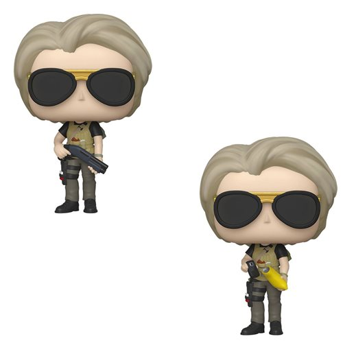 Terminator: Dark Fate Sarah Connor Pop! Figure, Not Mint