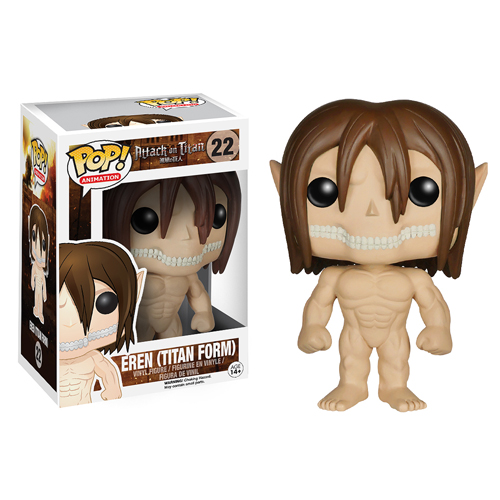 Attack On Titan Eren Jaeger Titan Form Pop Vinyl Figure