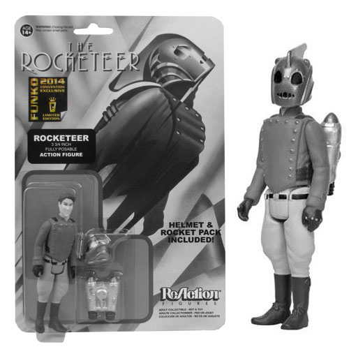 SDCC Exclusive Black and White Rocketeer Action Figure