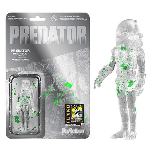 SDCC Exclusive Predator with Green Splatter Action Figure