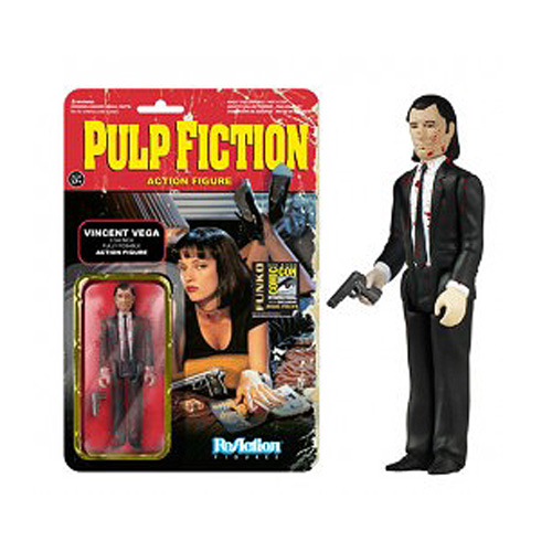 SDCC Exclusive Pulp Fiction Blood Vincent Vega Figure