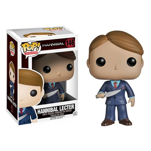 Hannibal TV Hannibal Lecter Pop! Vinyl Figure