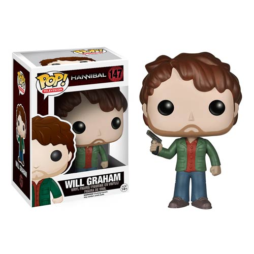 Hannibal Tv Will Graham Pop Vinyl Figure Funko