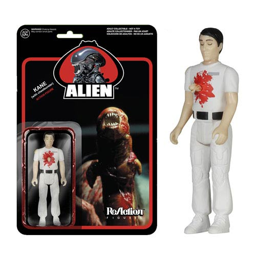 Alien Kane with Chestburster ReAction 3 3/4-Inch Figure