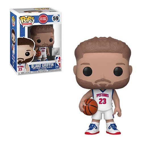 NBA Detroit Pistons Blake Griffin Pop! Vinyl Figure
