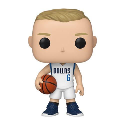 NBA Dallas Mavericks Kristaps Porzingis Pop! Vinyl Figure
