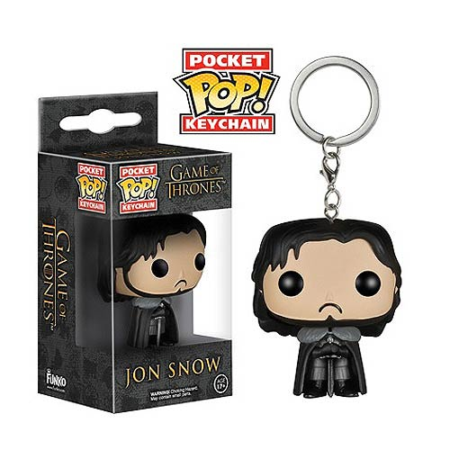 Game of Thrones Jon Snow Pop! Vinyl Figure Key Chain