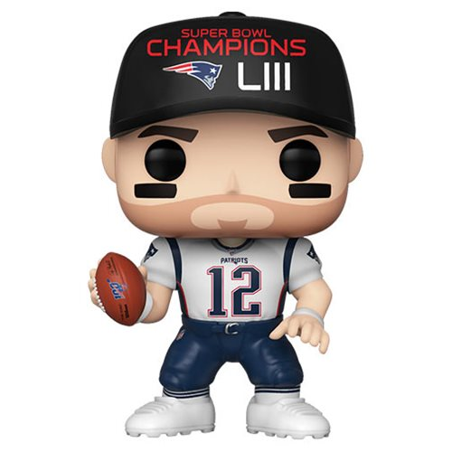 NFL Patriots Tom Brady (Super Bowl) Pop! Vinyl Figure