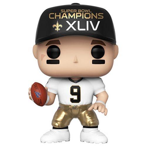 NFL Saints Drew Brees (Super Bowl) Pop! Vinyl Figure