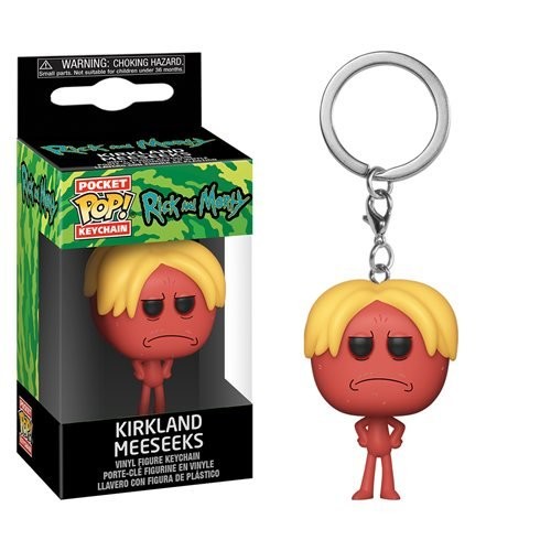 Rick and Morty Kirkland Meeseeks Pocket Pop! Key Chain
