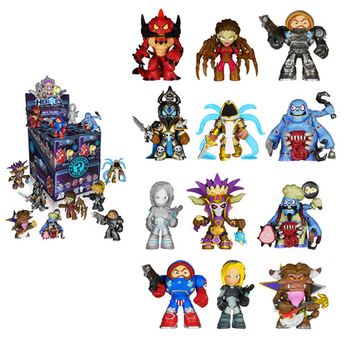 Heroes Of The Storm Mystery Minis Mini Figure Display Case