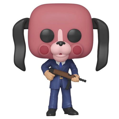 Umbrella Academy Cha Cha with Mask Pop! Vinyl Figure