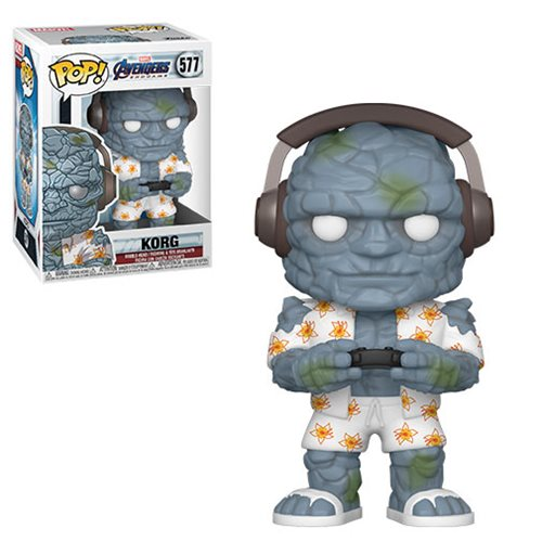 Avengers: Endgame Gamer Korg Pop! Vinyl Figure, Not Mint