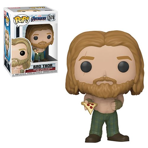 Avengers: Endgame Thor with Pizza Pop! Vinyl Figure