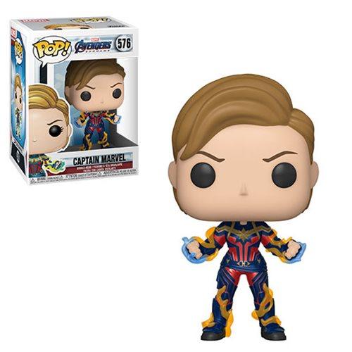 Avengers: Endgame Captain Marvel New Hair Pop!, Not Mint