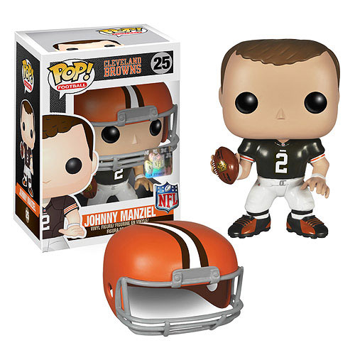 NFL Johnny Manziel Wave 1 Pop! Vinyl Figure