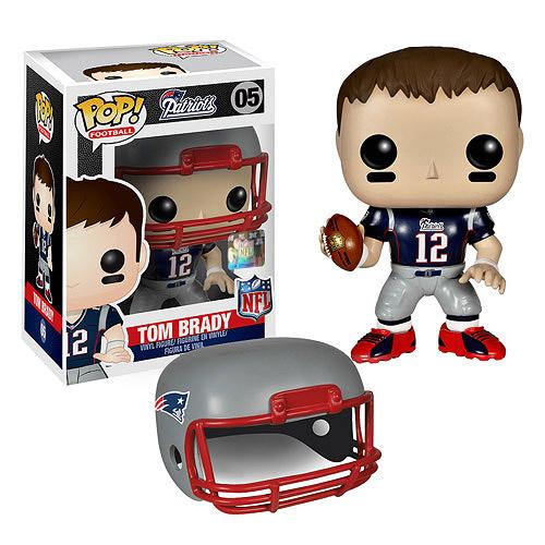 NFL Tom Brady Wave 1 Pop! Vinyl Figure  Funko  Sports: Football  Pop! Vinyl Figures at
