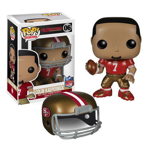 NFL Colin Kaepernick Pop! Vinyl Figure  Funko  Sports: Football  Pop! Vinyl Figures at