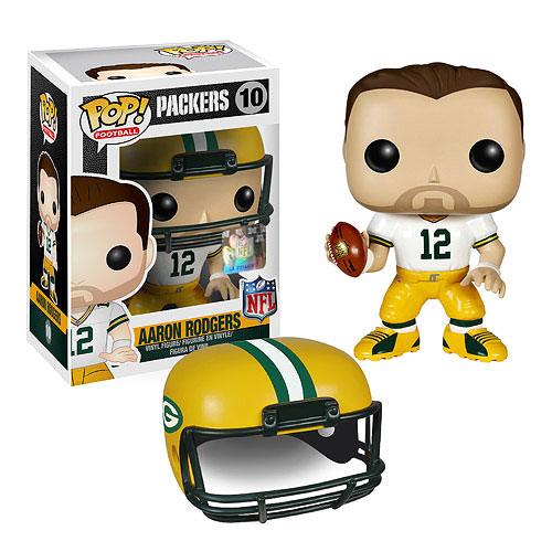 NFL Aaron Rodgers Wave 1 Pop! Vinyl Figure