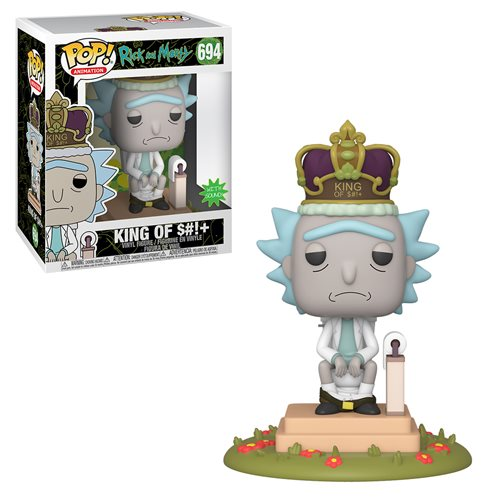 Rick and Morty King of S#!+ Electronic Deluxe Pop! Vinyl