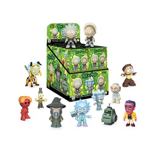 Rick and Morty Series 3 Mystery Minis Display Case