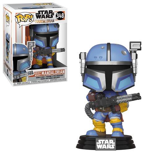 Star Wars: The Mandalorian Heavy Infantry Pop! Vinyl Figure