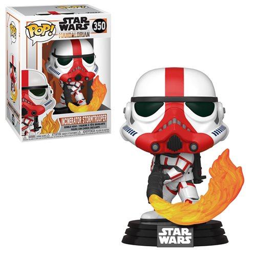 Star Wars Mandalorian Incinerator Trooper Pop! Vinyl Figure