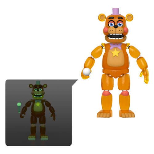 FNAF: Pizza Simulator Rockstar Freddy Action Figure