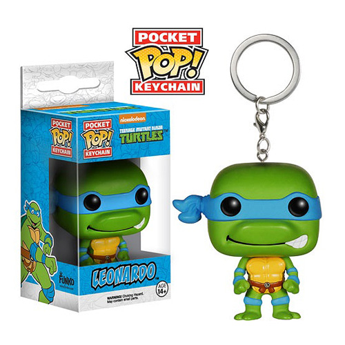 TMNT Leonardo Pop! Vinyl Figure Key Chain