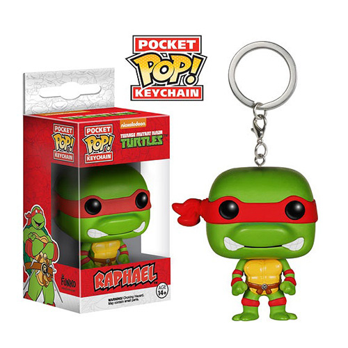 TMNT Raphael Pop! Vinyl Figure Key Chain