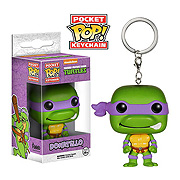 TMNT Donatello Pop! Vinyl Figure Key Chain