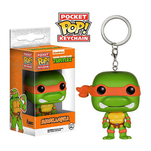 TMNT Michelangelo Pop! Vinyl Figure Key Chain
