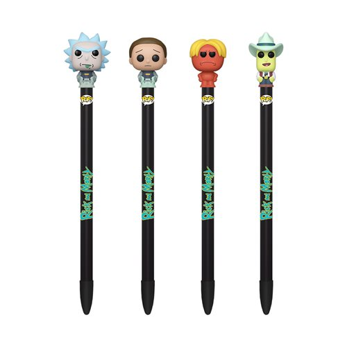 Rick and Morty Pop! Pen Display Case