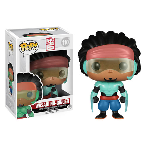 Big Hero 6 Marvel Wasabi No-Ginger Pop! Vinyl Figure