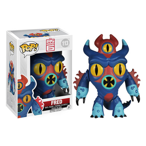 Big Hero 6 Marvel Fred Pop! Vinyl Figure