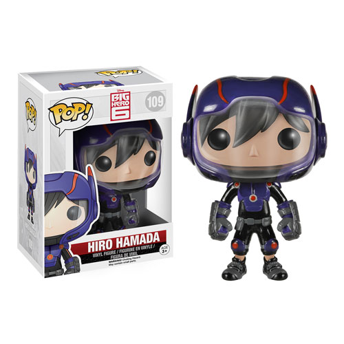 Big Hero 6 Marvel Hiro Hamada Pop! Vinyl Figure