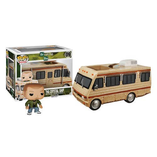 Breaking Bad Crystal Ship Jesse Pinkman Pop! Vinyl Vehicle