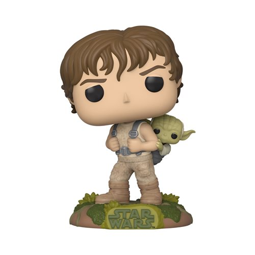 Star Wars: ESB Training Luke with Yoda Pop! Vinyl Figure