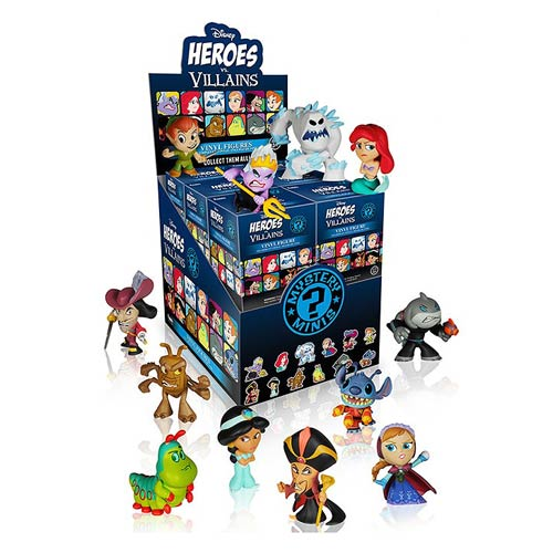 Disney Heroes vs. Villains Mystery Minis Display Case