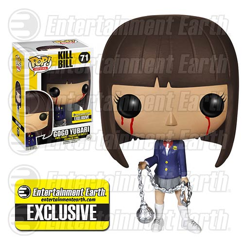 Kill Bill Bloody Gogo Yubari Pop! Vinyl Figure EE Exclusive