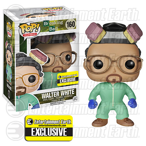Breaking Bad Walt White Green Suit Pop! Vinyl Figure EE Excl