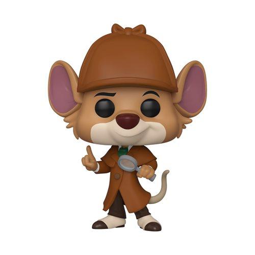 The Great Mouse Detective Basil Pop! Vinyl Figure