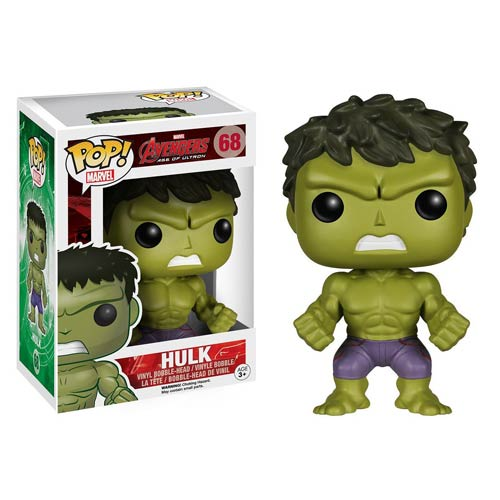 Avengers Age of Ultron Hulk Pop! Vinyl Bobble Figure