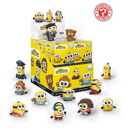 Minions: The Rise of Gru Mystery Minis Display Case