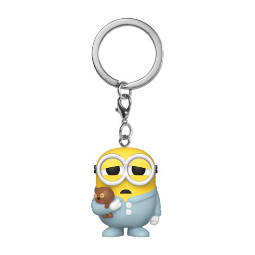 Minions: The Rise of Gru Pajama Bob Pocket Pop! Key Chain