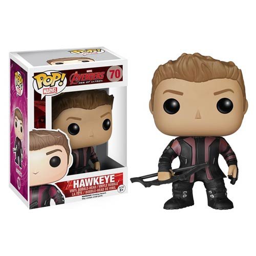 Avengers Age of Ultron Hawkeye Pop! Vinyl Bobble Figure