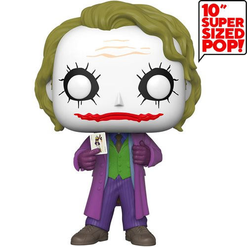 The Dark Knight Joker 10-Inch Pop! Vinyl Figure