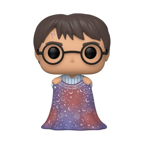 Harry Potter Harry with Invisibility Cloak Pop! Vinyl Figure
